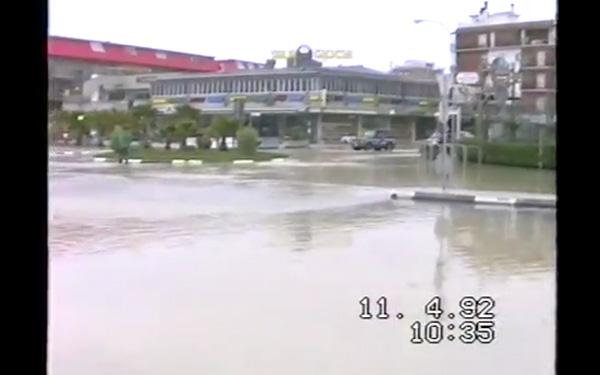 Alluvione del Tronto a Porto d'Ascoli 1992, la rotonda