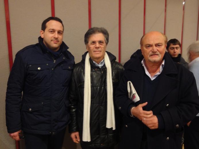 Andrea Traini, Elio Core e Pietro D'Angelo