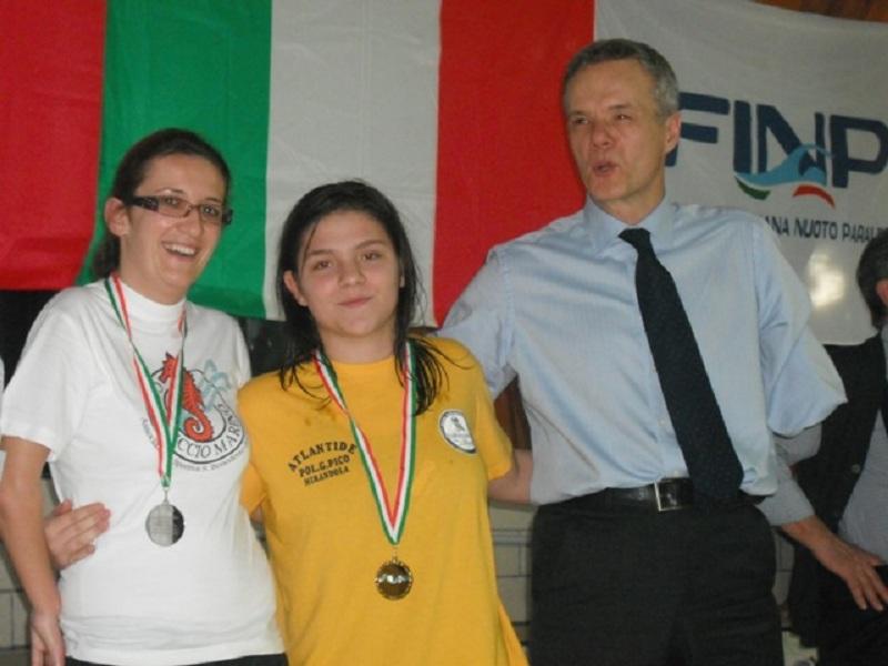 Sara Rivosecchi e Vanessa Cicchi della Cavalluccio Marino