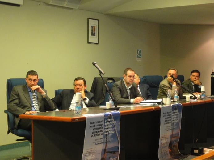 Alberto Felici, Guido Milana, Fabio Urbinati, Paolo Perazzoli e Uriano Meconi