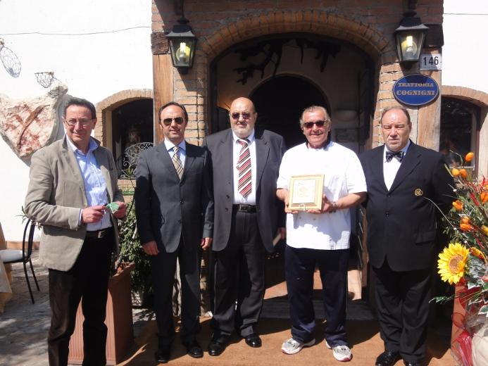 Pasqualino Piunti, Valeriano Camela, Raffaele Di Pancrazio, Francesco Cognigni e Paolo Di Mario