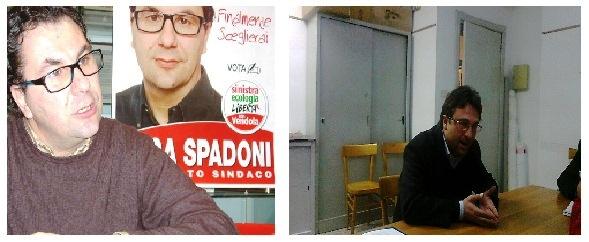 Da sinistra: Luca Spadoni, Antonio Pompili