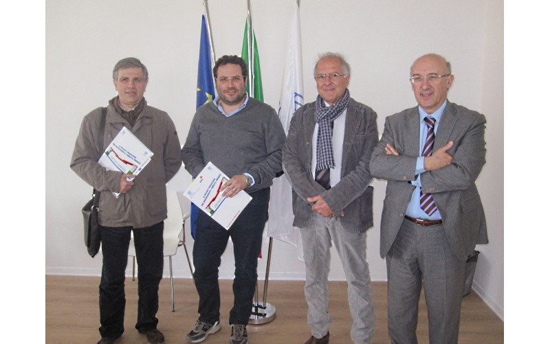 Emidio Albanesi, Gianluca Lelii, Bruno Bucciarelli, Ferruccio Squarcia