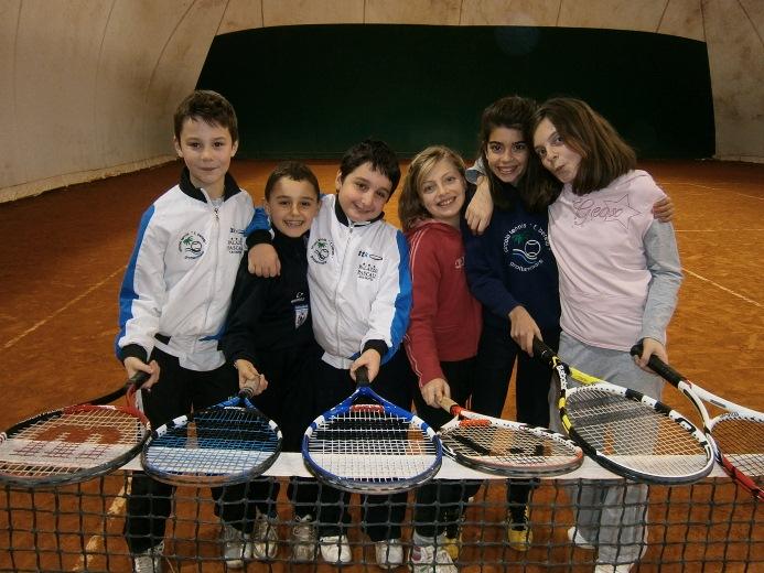 Giovani tennisti Grottammare