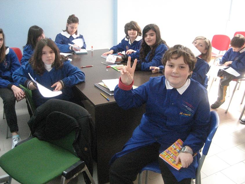 Gli alunni della classe 5A scuola Speranza