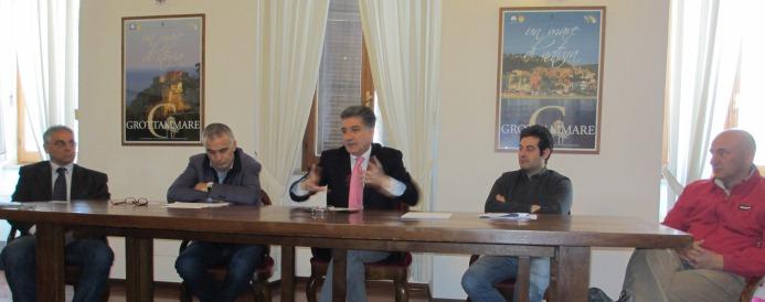 Da sinistra: Roberto Marcucci, Adriano Maroni, Luigi Merli, Alessandro Rocchi, Giuseppe Marconi