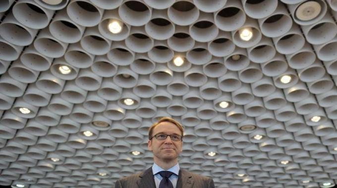 Jens Weidmann presidente della Bundesbank, la banca centrale tedesca