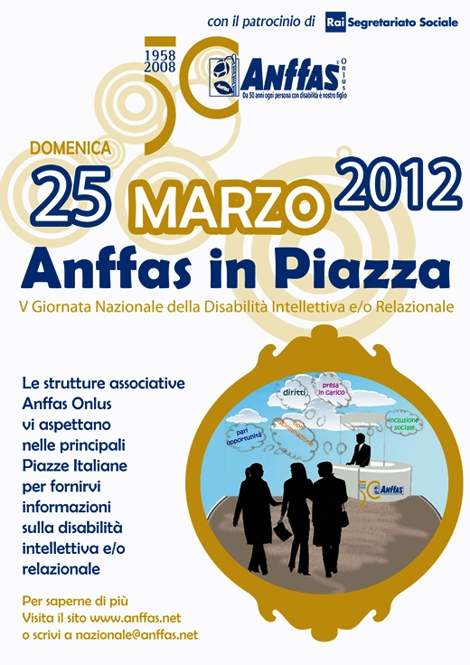 Anffas locandina domenica in piazza