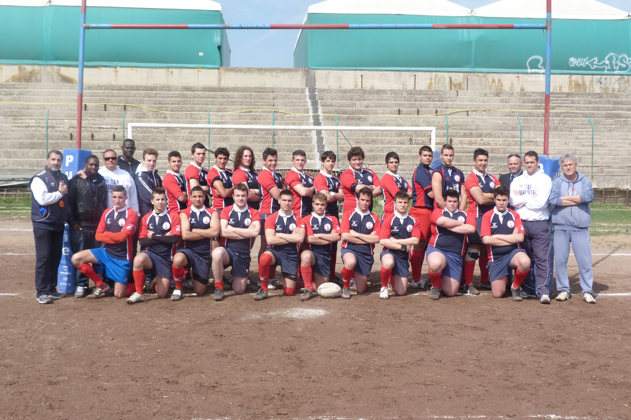 L'Under 20 dell'Unione Rugby Samb