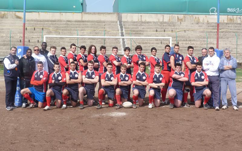 L'Under 20 della Unione Rugby Samb