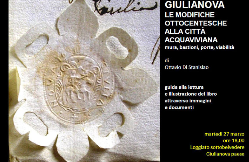 Locandina presentazione libro di Ottavio Di Stanislao
