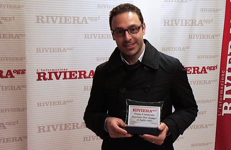 Patrizio del Zompo, primo commentatore di RivieraOggi.it