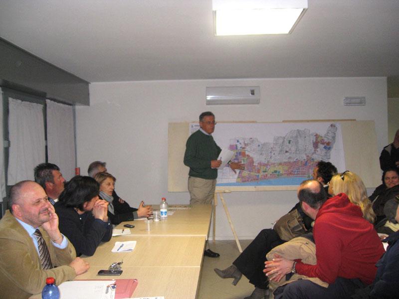 Paolo Perazzoli illustra il Prg