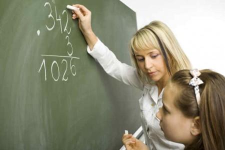 Esercizi di matematica in una scuola primaria