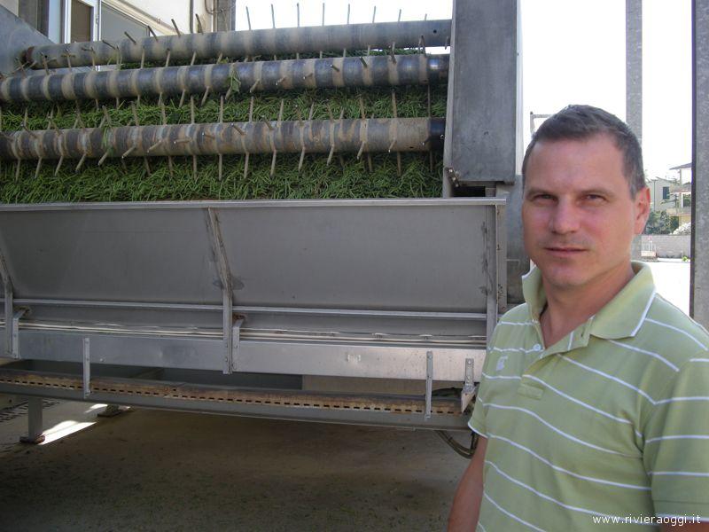 Vincenzo Ciulla nel 2009 quando acquistò la ex Foodinvest chiamandola Ortofrost. Acqua passata, ormai