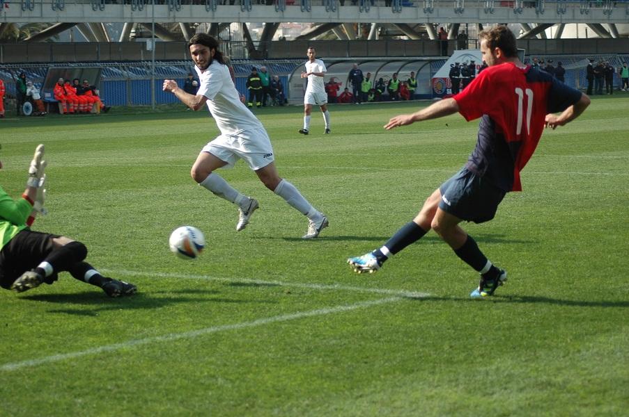 Voinea gol 2-0 alla Santegidiese (giammusso)