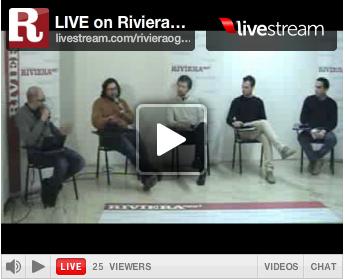 15 marzo 2012, YouRiviera: le facce della politica giovane. Pompei è il terzo da sinistra