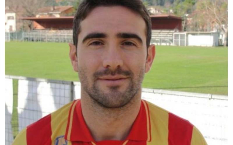 Il bomber della Cagliese Alessandro Cossa