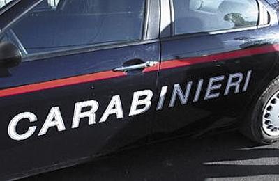 macchina dei Carabinieri