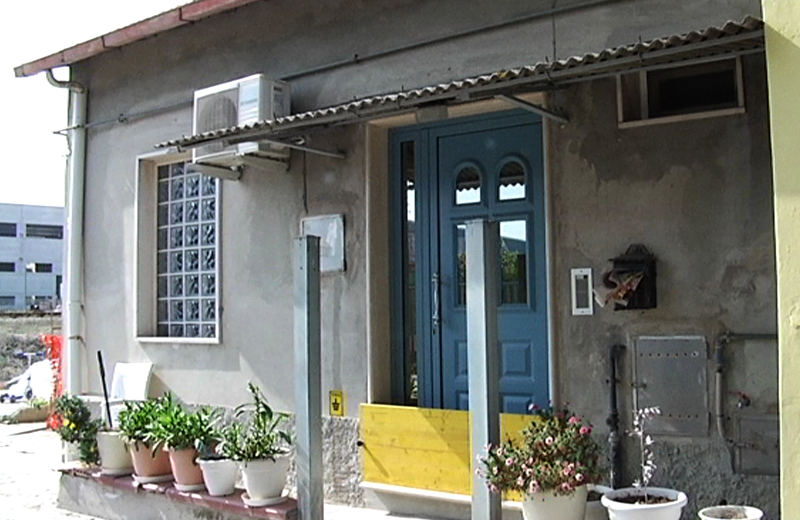 Casa inagibile in via Val Tesino