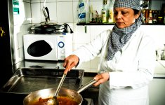 Anna Maria, la cuoca del ristorante Rondò
