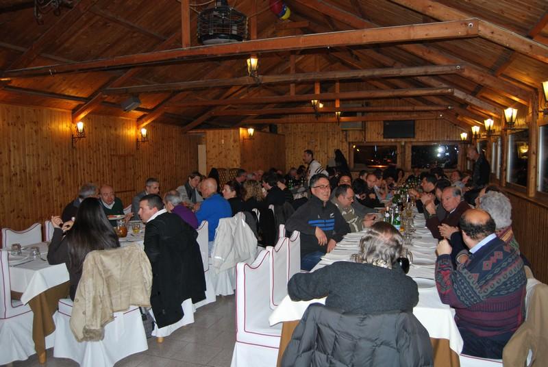 i partecipanti alla cena di presentazione del Circolo Tennis di Maritnsicuro