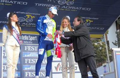 Nibali con Massimo Vagnoni