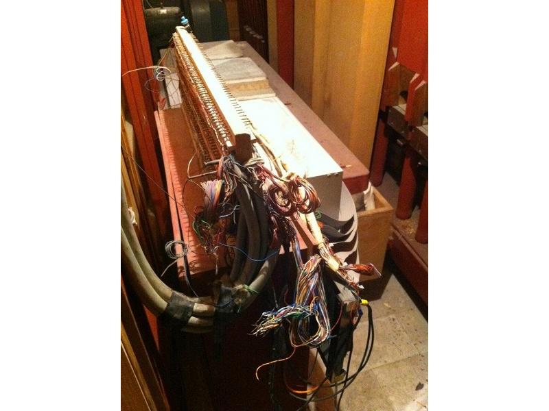 Particolare dell'organo Balbiani-Vegezzi-Bossi presso la chiesa Santa Maria della marina