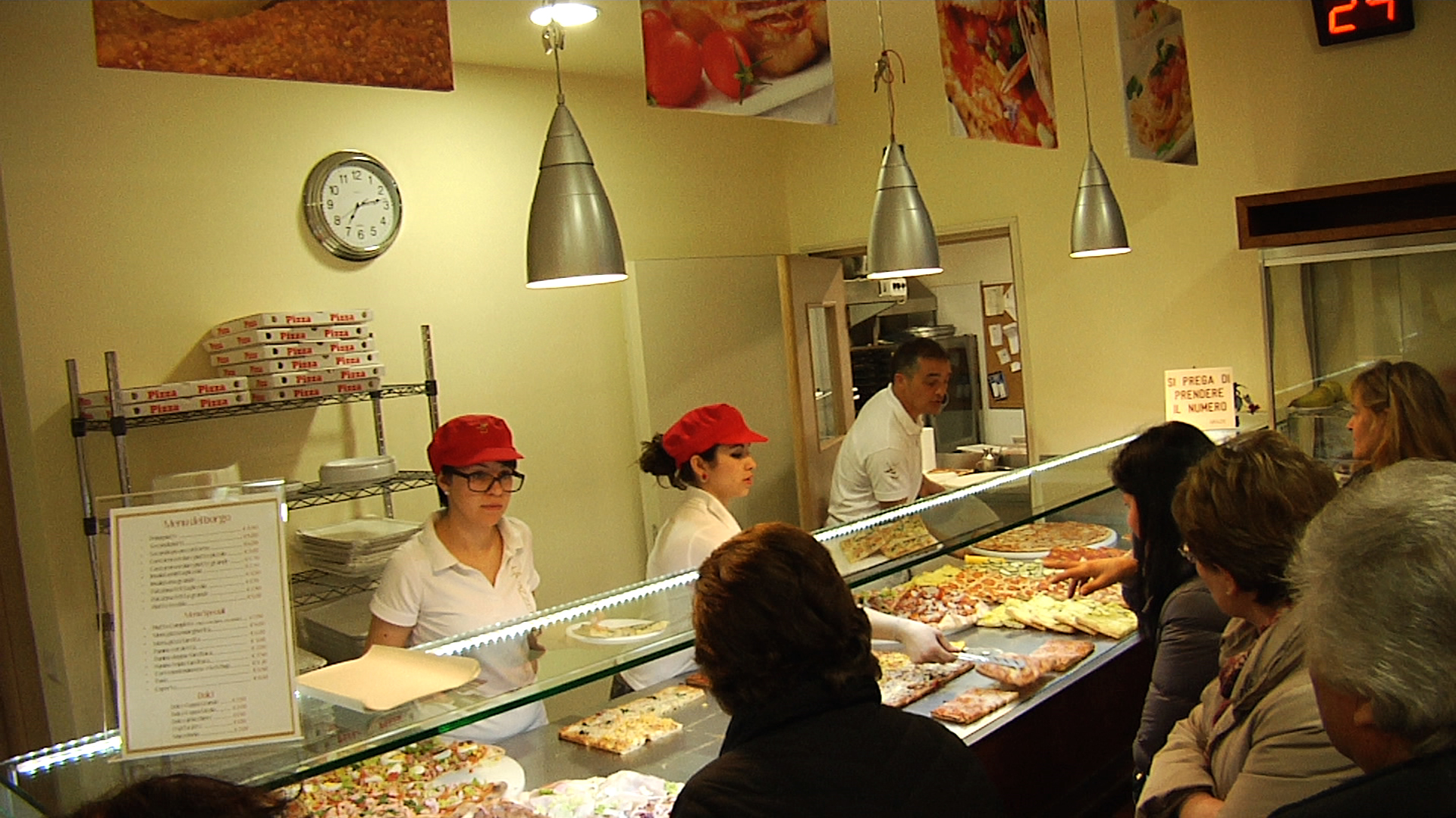 La pizza (ma non solo) è regina alla Pizzeria del Borgo