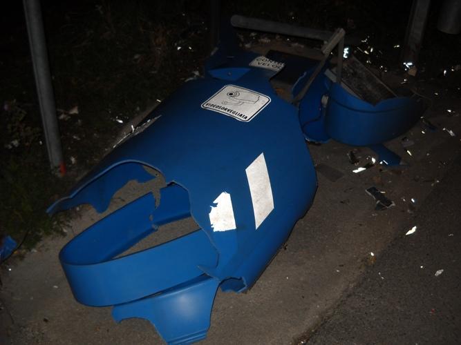 rilevatore di velocità distrutto zona nord Cupra