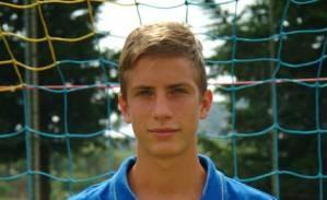Alessandro Holzknecht, giocatore della Cuprense