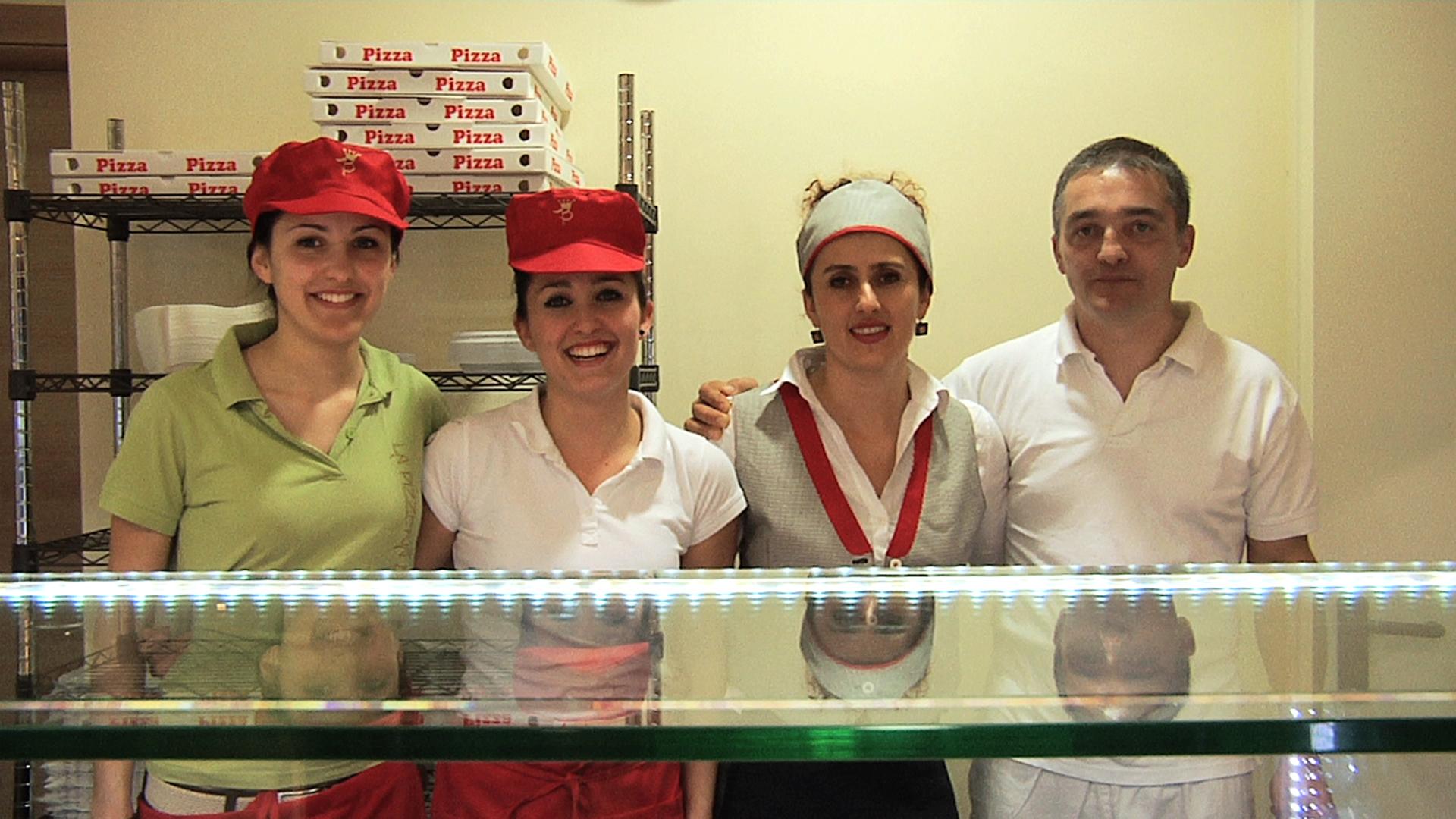 Lo staff de La pizzeria del borgo
