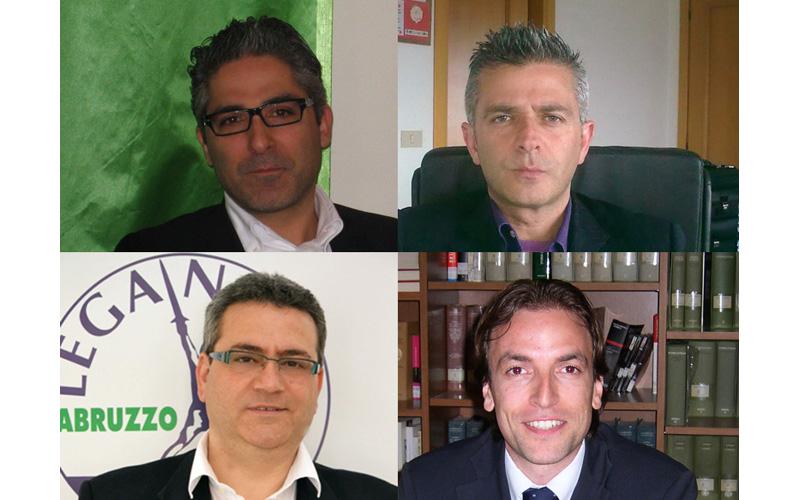 Andrea Buonaspeme Cambiamo Insieme), Paolo Camaioni Città Attiva), Francesco Tommolini (Lega Nord), Massimo Vagnoni (Progetto Comune)