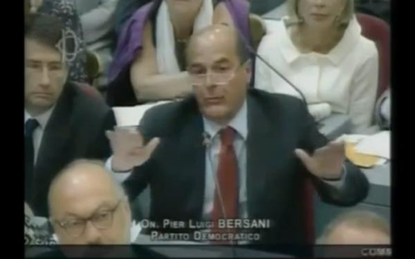 Bersani in Parlamento, il pareggio di Bilancio è castrazione delle politiche economiche, 11 agosto 2011