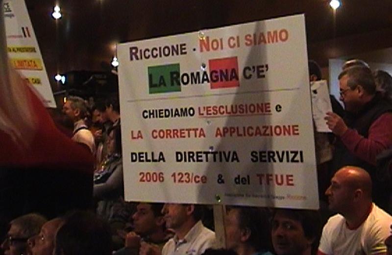 Cartellone Balneari Riccione