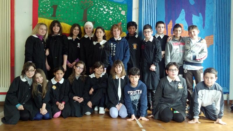 Classe 5 A Santa Lucia