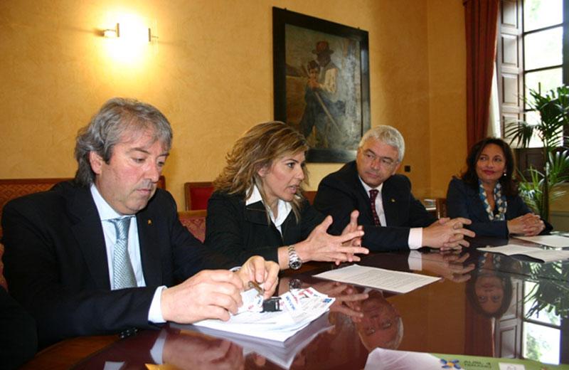 Renato Rasicci, Eva Guardiani, Giustino Varrassi e Desiree Del Giovine