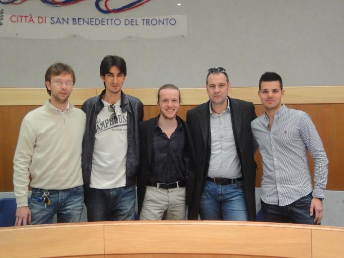 I Giovani Democratici di San Benedetto con Fabio Urbinati