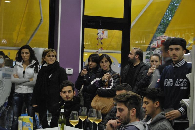 il pubblico presente alla presentazione