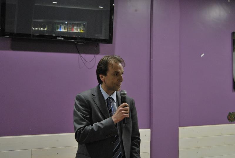 il candidato sindaco Massimo Vagnoni