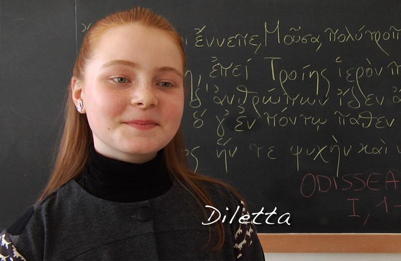 Diletta, spot Liceo Classico