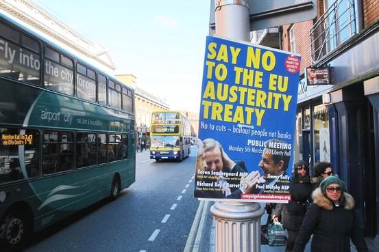 Dublino, proteste contro i patti europei dell'Austerità. In Italia nulla di questo, per ora