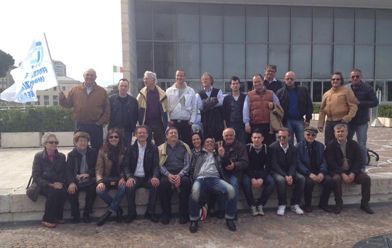 Foto gruppo Confesercenti Fiba a Roma, 18 aprile 2012