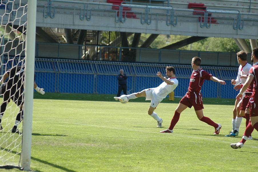 Gol di Pazzi, è il pareggio contro l'Agnonese (giammusso)