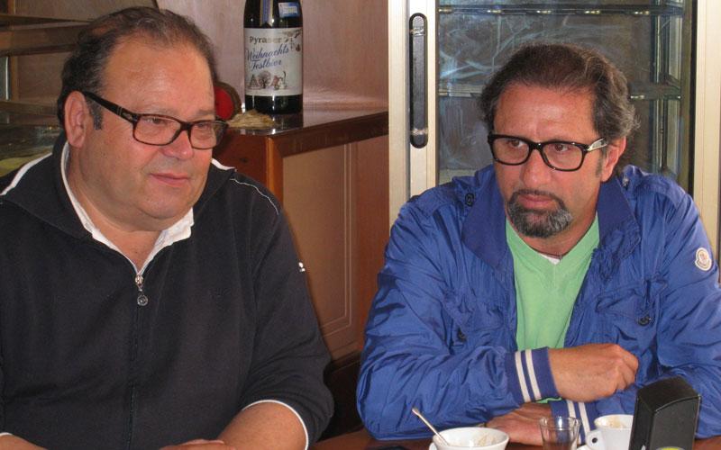 Gianfranco De Luca e Toni Lattanzi