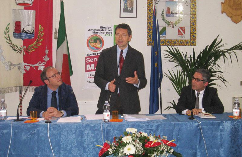 Robert Verrocchio, Ignazio Marino e Andrea Buonaspeme