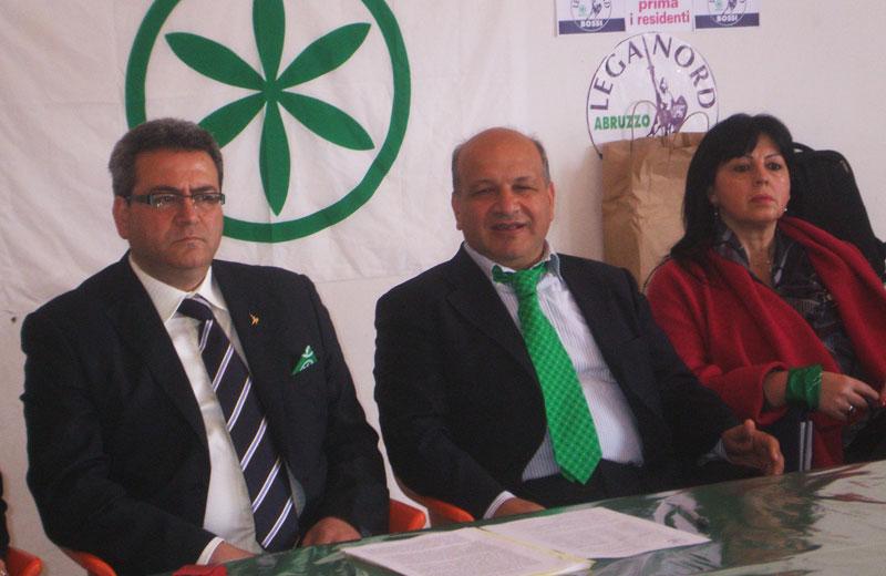 Presentazione della lista della Lega Nord a Martinsicuro