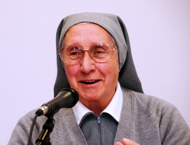 Suor Eugenia Bonetti, fonte foto Caritas Italiana