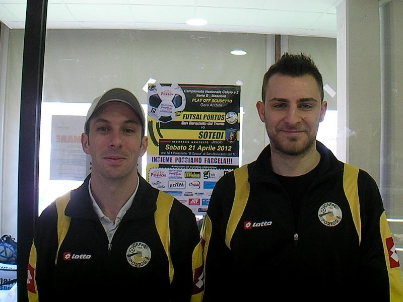 Tiago Bestetti e Andrea Nava