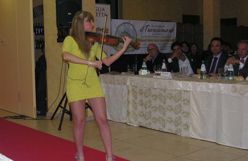 Violinista Virginia Galliani